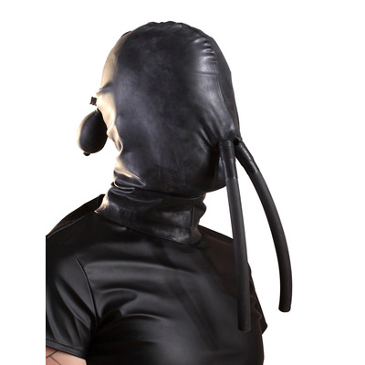 Moulded Rubber Inflatable Hood With Nose Tube
