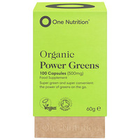 one-nutrition-organic-power-greens-100-capsules