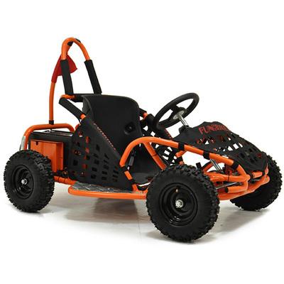 FunBikes Funkart 1000w Electric Orange Kids Mini Go Kart