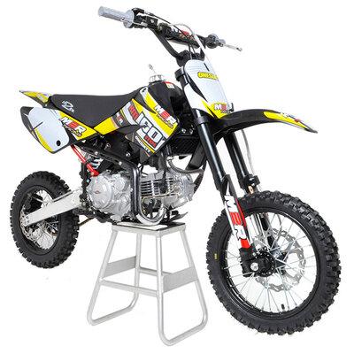 M2R Racing KM140MX 140cc 82cm Yellow Pit Bike