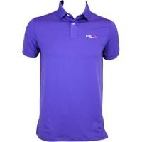 RLX Solid Airflow Golf Shirt Racing Purple AW15
