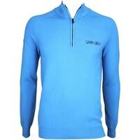 Galvin Green Charles Tour Golf Jumper Summer Sky AW15