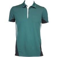 Galvin Green Maddox Ventil8 Golf Shirt Racing Green-Black AW15