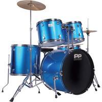 Performance Percussion Blue Full Size Rock Drum Kit
