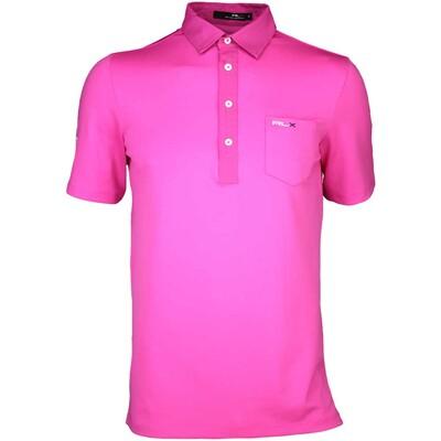 RLX Golf Shirt Woven Tech Pique Madison Pink SS16