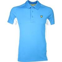 Lyle & Scott Golf Shirt – Ayton Tech Borders Blue SS16