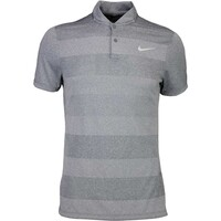 Nike Golf Shirt - MM Fly BLADE Stripe Dark Grey SS16