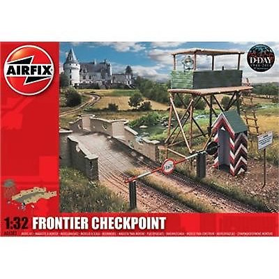 Airfix Frontier Checkpoint 1:32 Scale