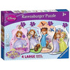 Ravensburger Sofia The First 4 Shaped Puzzles