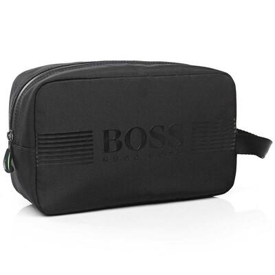Hugo Boss Pixel Wash Bag - Black SP16