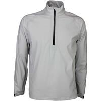 Puma Waterproof Golf Jacket - LS Rain Popover Grey SS16
