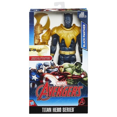 Avengers Titan Hero And Gear - Black Panther