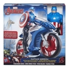 Avengers Titan Hero Series 12 Figure - Captain America with Battle Cycle