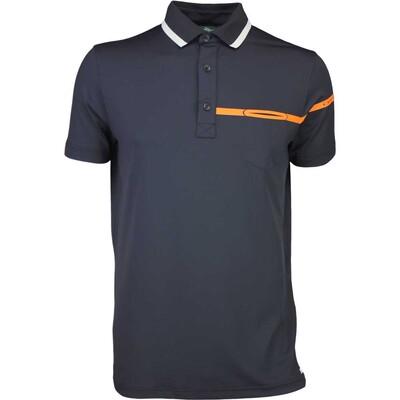 Cherv242 Golf Shirt ANETO Black SS16