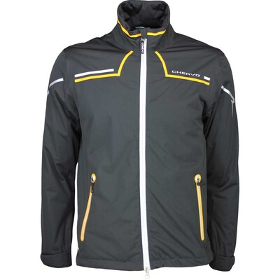 Cherv242 Waterproof Golf Jacket MAROGNA Black SS16