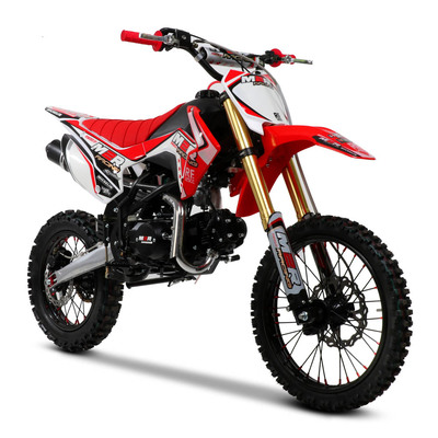 M2R Racing RF125 125cc 17/14 86cm Red Blue Dirt Bike