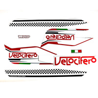 Velocifero chequered Full Sticker Set