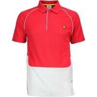 Lyle & Scott Golf Shirt - Newstead - Bright Red AW16