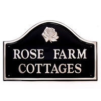 Aluminium Bridge House Sign 50 x 35cm
