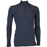 Icebreaker Base Layer - Everyday LS Zip - Stealth AW16