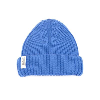 Bobbl Knitted Hat - Cobalt Blue