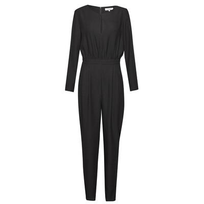 Tuxedo Jumpsuit - True Black
