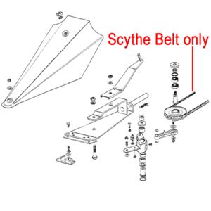 Al Ko Bm5001 Scythe Mower Belt 401478