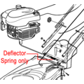 Click to view product details and reviews for Hayter Deflector Spring 410030.