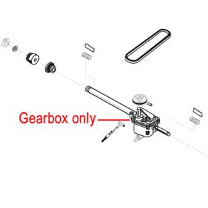 Al Ko Lawnmower Gearbox 546655