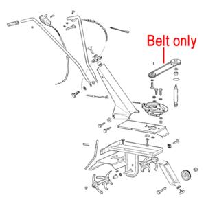 Al Ko Cultivator Drive Belt Xpz630 P109321005184