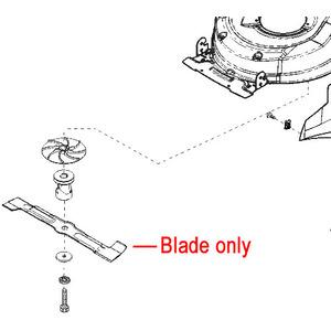 Al Ko Moweo 465 Li Lawnmower Blade 441505