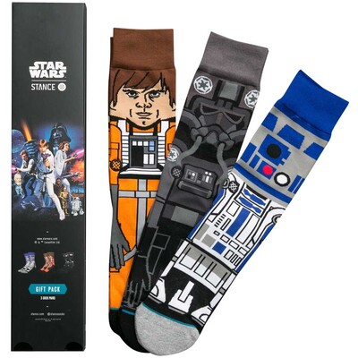 Stance Star Wars Socks A New Hope Three Pack 2017