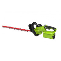 Greenworks G40HT61K2-A 40V Cordless Hedge Trimmer with Battery & Charger
