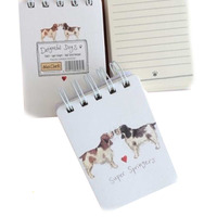 Alex Clarks Super Springers Small Spiral Notepad