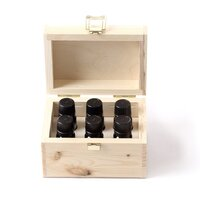 Essential Oils Gift Pack in Wooden Box