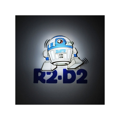 R2-D2 (Star Wars) Minis 3D Light