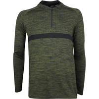 Nike Golf Pullover - NK Dry Knit SMLSS - Olive Canvas AW18