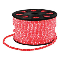 LED Rope Light with Wiring Accessories 45m Red
