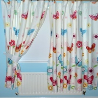 Butterflies Curtains 72s