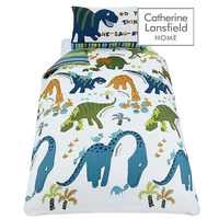 Catherine Lansfield Kids Dino Single Duvet Set