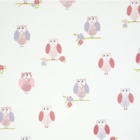 Birdhouse Wallpaper - Pink - Last One!