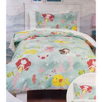 Mermaids Toddler Bedding Set