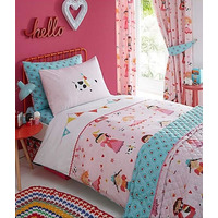 Dressing Up, Embroidered, Single, Girls Bedding Set