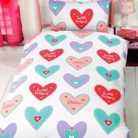 Hearts, Single Bedding