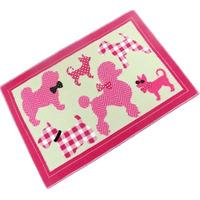 Pink Puppies Mat 60 x 90 cm