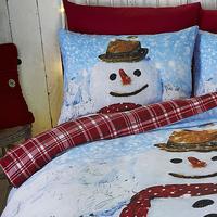 Catherine Lansfield Snowman Single Bedding