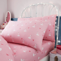 Princess Single Fitted Sheet and Pillowcase
