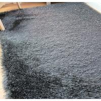 Dazzle, Charcoal Grey Rug - 60 x 110 cm