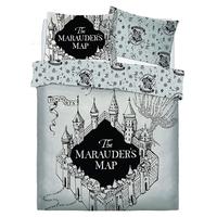 Harry Potter Double Duvet - Marauders Map