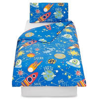 Space Dog Toddler Bedding